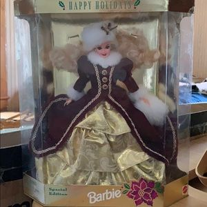 Special Edition Happy Holidays Barbie